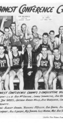 1956-57 SWC Men's Basketball Team Champs