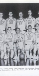 1961-62 Men's Basketball Team