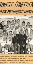 1966-67 SWC Men's Basketball Team Champs