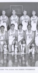 1970-71 Men's Basketball Team