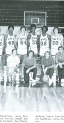 1975-76 Men's Basketball Team