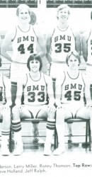 1976-77 JV Men's Basketball Team