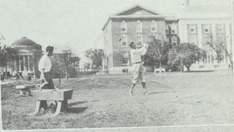 1922 Hillcrest Golf Course on SMU Campus