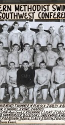 SMU Swim Team 1963-1964