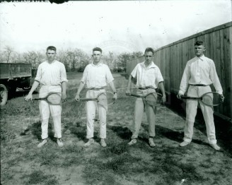 4 Tennis Players ca. 1930
