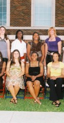 2008-2009 Women's Basketball Team
