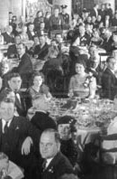 1935 Rose Bowl Banquet at the Los Angeles Biltmore Hotel