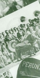 1934 Mustang Band, Peruna, and Betty Bailey