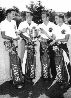 1954 NCAA Champions – Addington, Carrell, Towry And Honts