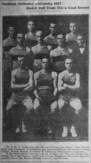 1916-17 Men's Basketball Team