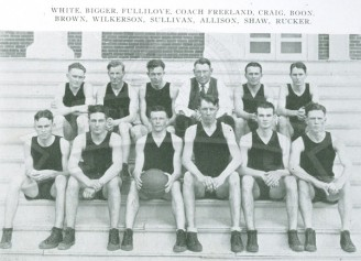 1924-25 Freshmen Men's Basketball Team