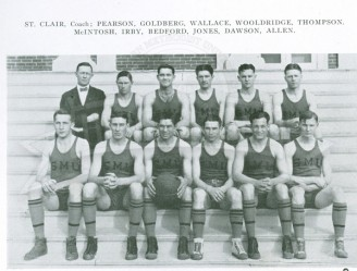 1924-25 Men's Basketball Team
