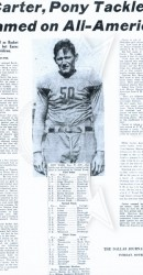 1934 Clyde Carter Named All American